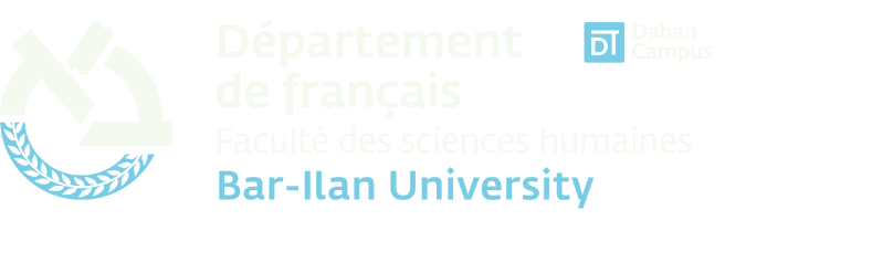 Département de français Bar-Ilan University